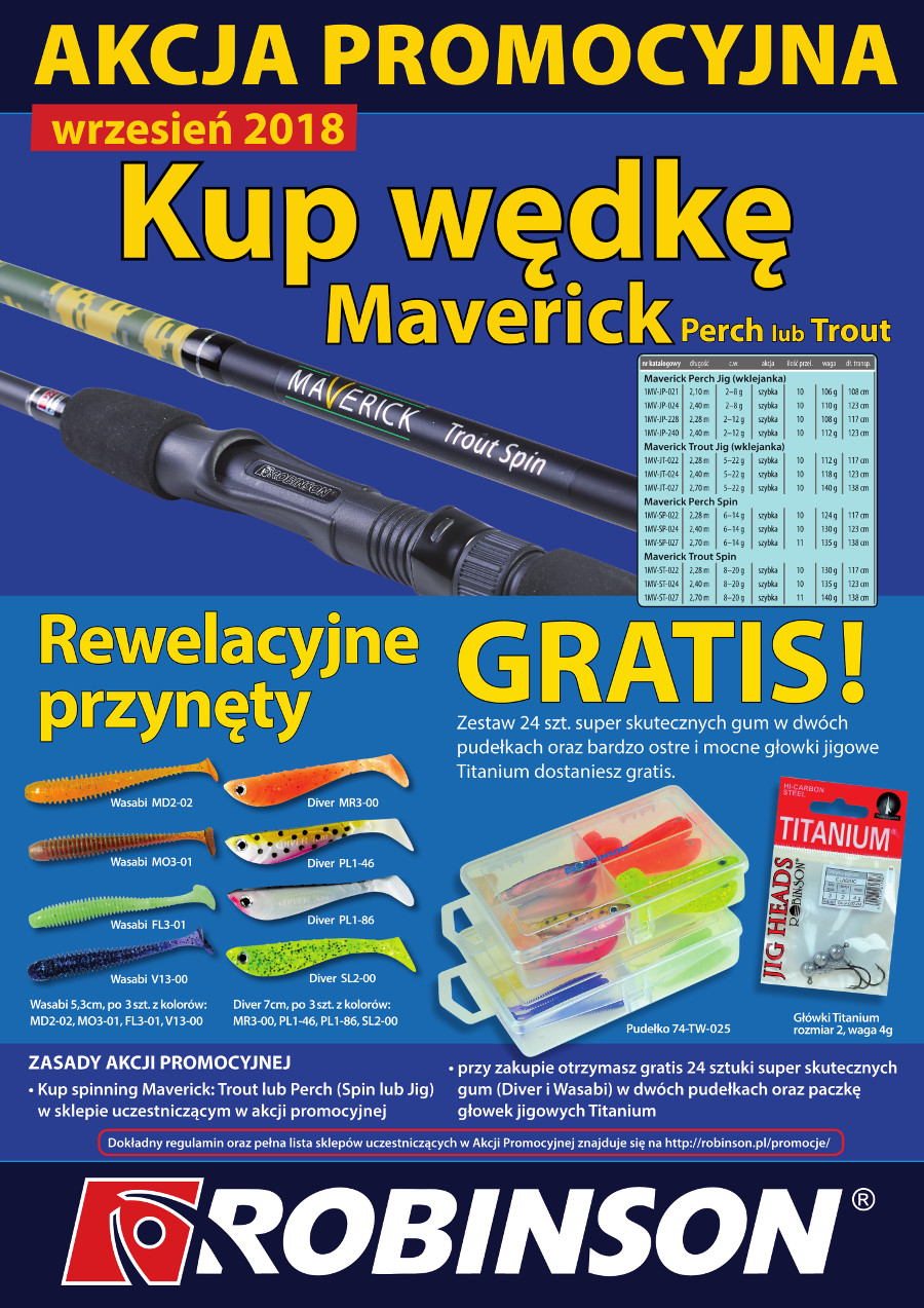 Plakat Maverick Perch i Trout IX 18