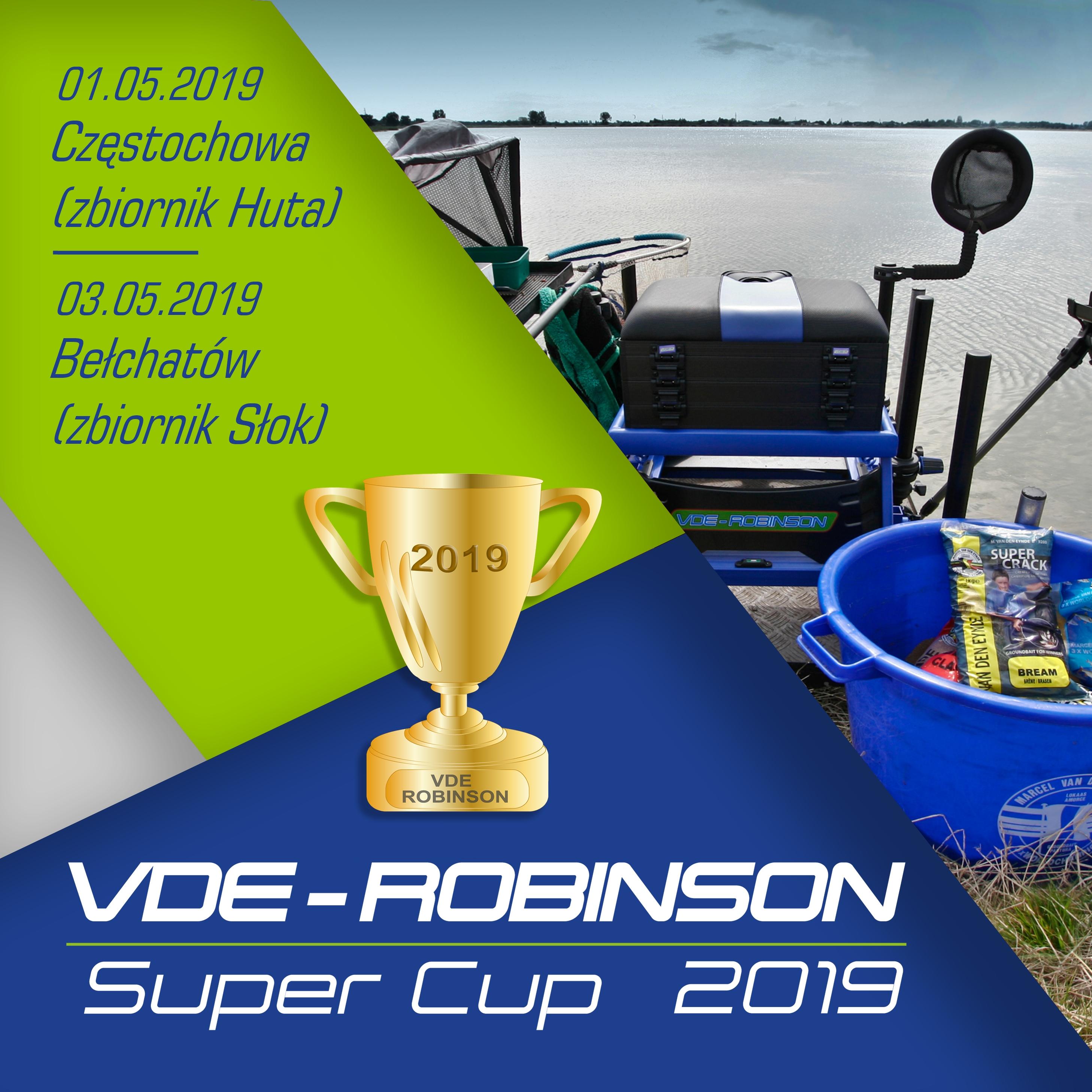 VDE Robinson Super Cup - majowe eliminacje